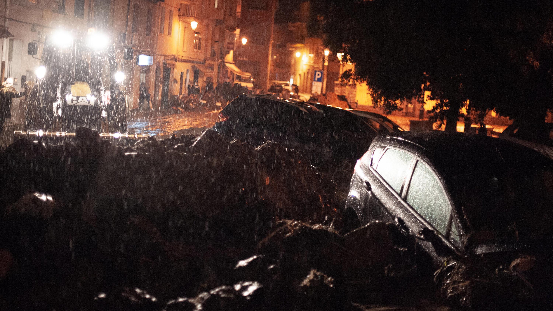 Heftige Unwetter auf Sardinien