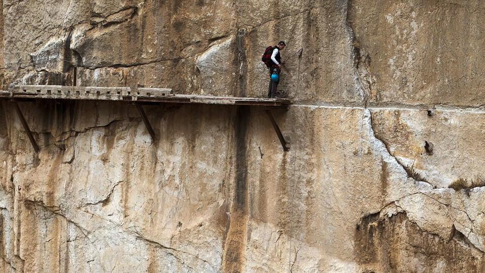 Klettersteig Caminito Del Rey : Caminito del rey: der gefährlichste weg welt ist wieder eröffnet