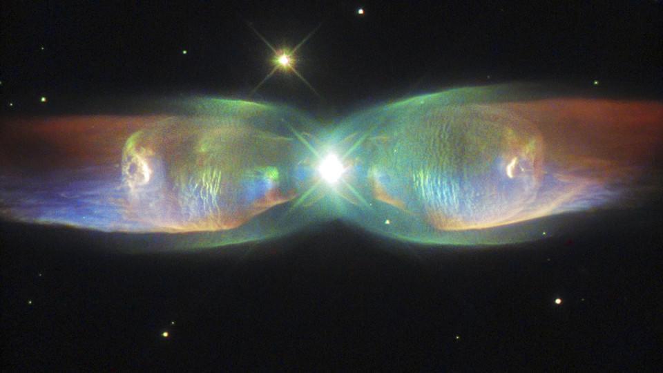 Hubble teleskop gelingt spektakuläres foto von einem