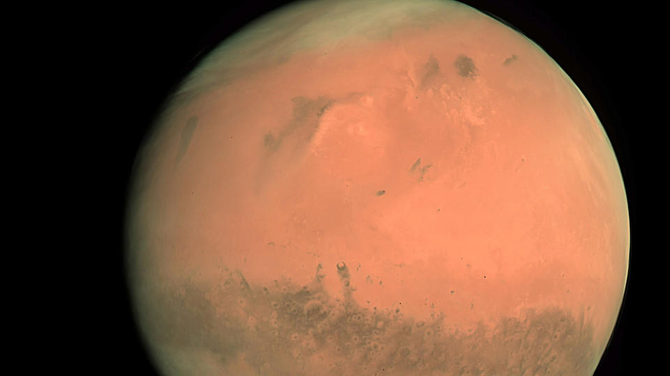 Mars Der Rote Planet Wetterde