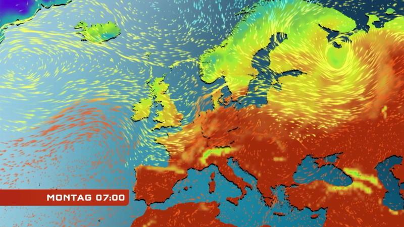 Unwetter folgen auf die Hitze - GÄUBOTE