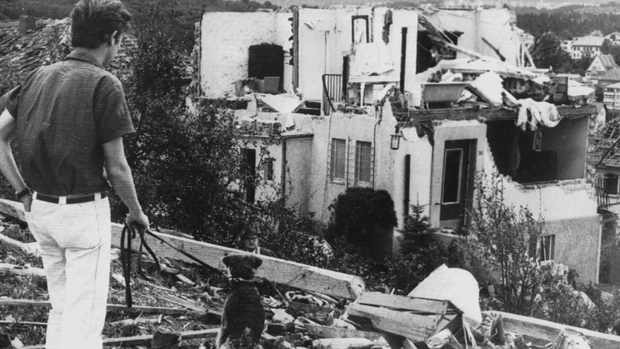 Am 10. Juli 1968 zog der bislang schwerste Tornado durch Deutschland. Er traf die Stadt Pforzheim mit aller Macht und zerstörte binnen Sekunden 1.750 Häuser. Es war ein Wunder, dass nur zwei Menschen starben. Hier die ganze Geschichte,