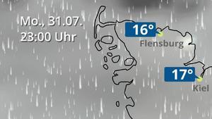 Wetter Schleswig Holstein Wettervorhersage Wetterkarte Wetterde