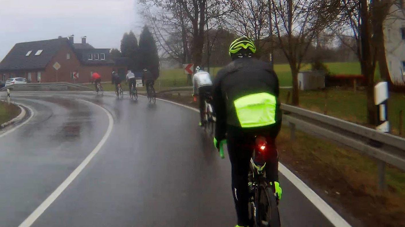 Rennrad Wintertraining