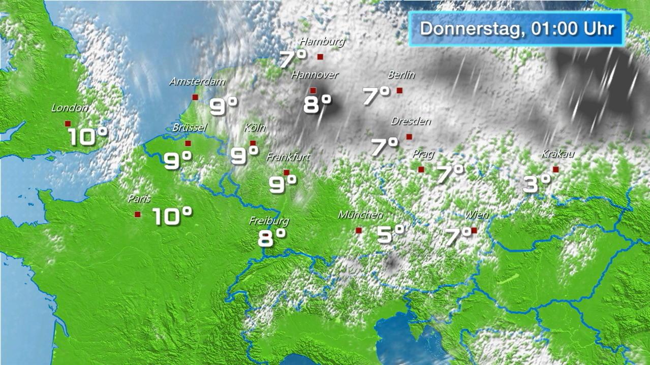 Regenradar Hamburg Prognose