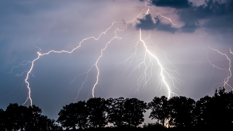 Blitzeinschlag Radar