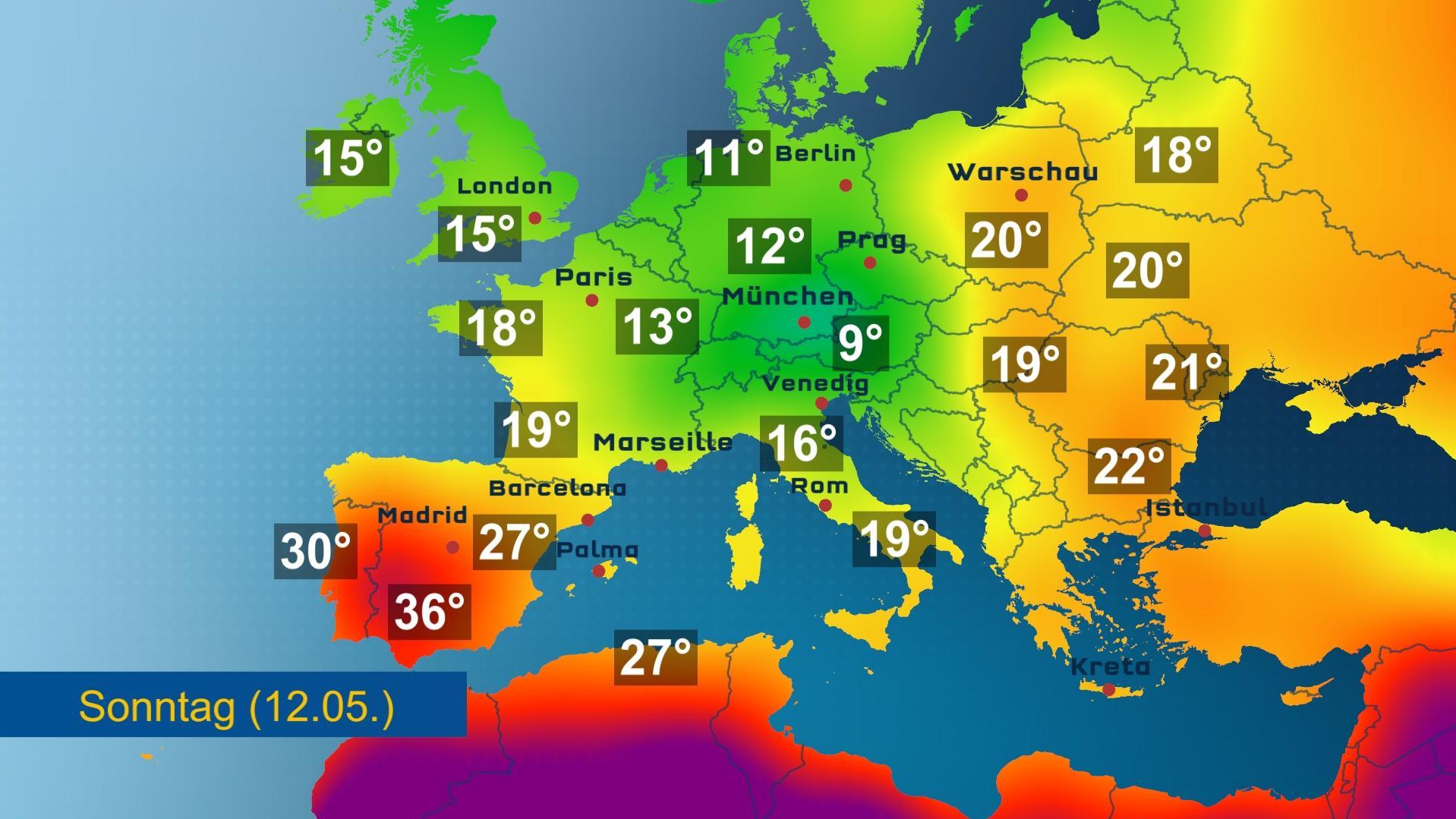 Wetter In Europa