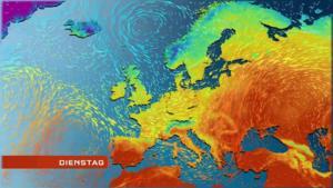 Wettervorhersage Für Die Nächste Woche