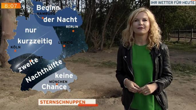 Perseiden In Deutschland Hier Regnet Es Heute Nacht Sternschnuppen