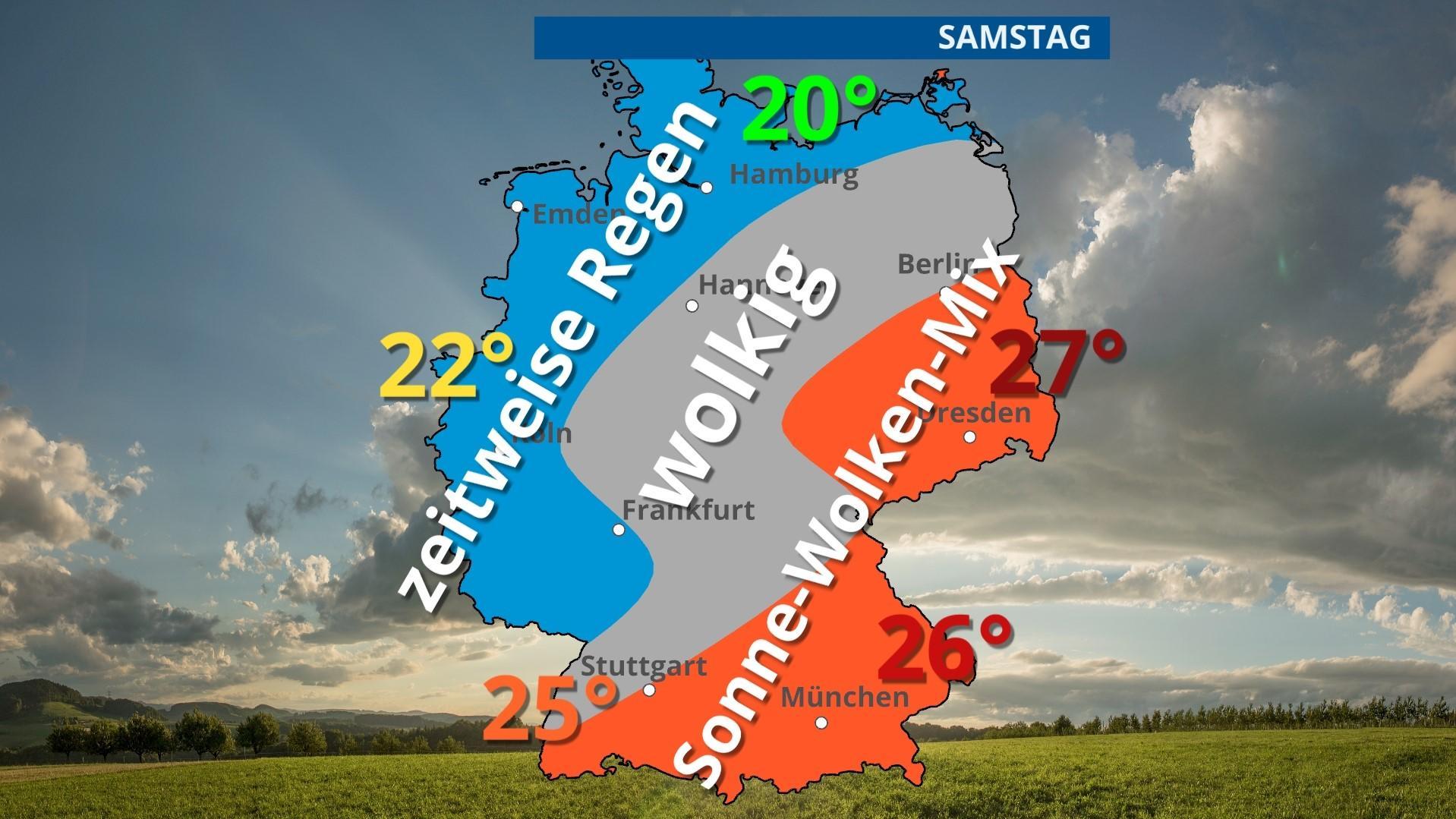 "Wetter am Wochenende ""Bernd"