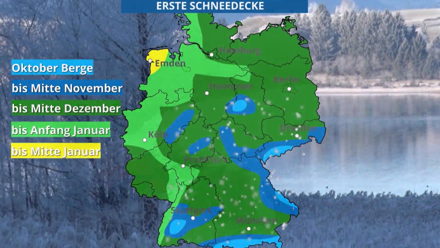 Wo Ist Schnee In Deutschland
