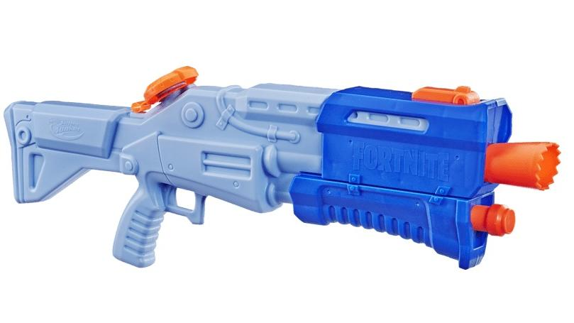 Super Soaker Wasserblaster im echten Fortnite-Design