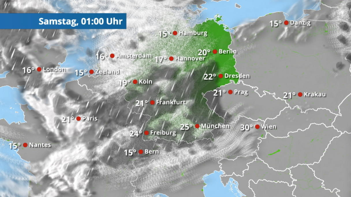 Regenradar Leverkusen
