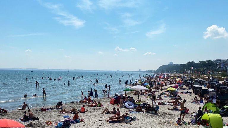 Scharbeutz Strand Corona