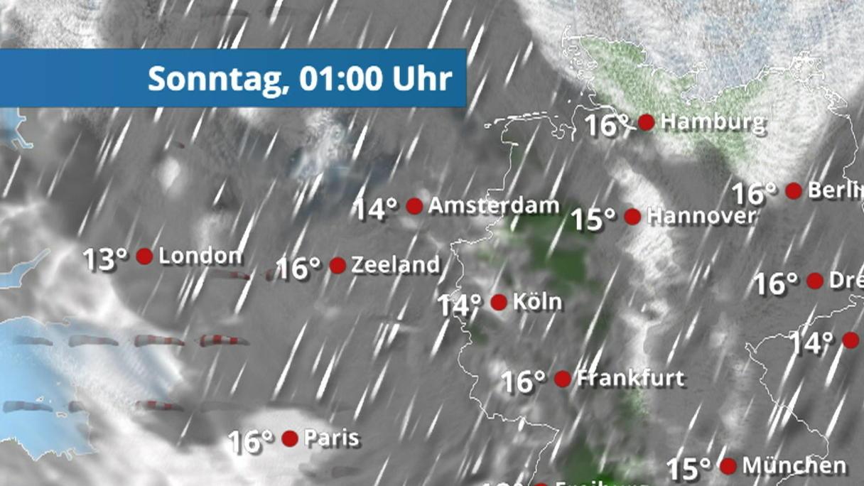 Regenradar Herne