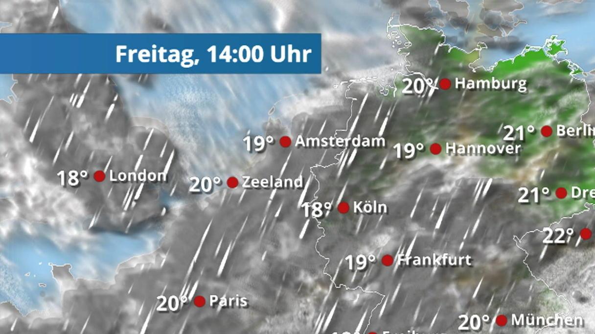 Wie Wird Das Wetter Morgen In Frankfurt Am Main