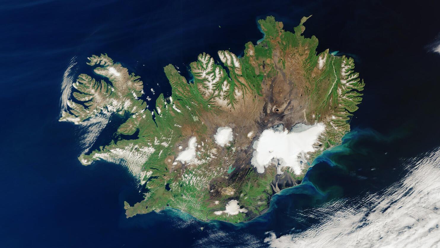Satellitenbild Wetter