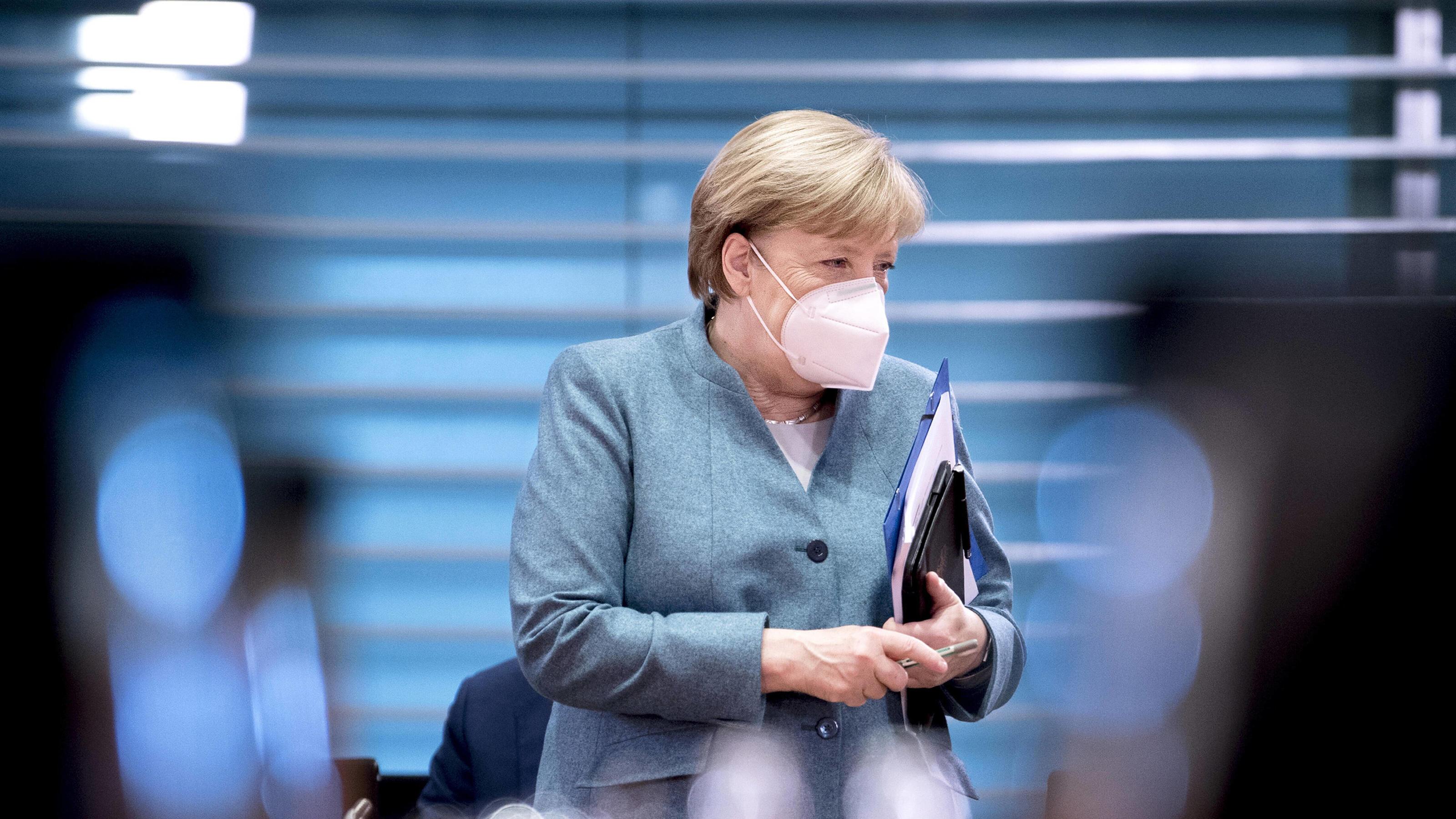 Merkel: Lockdown wird eher härter