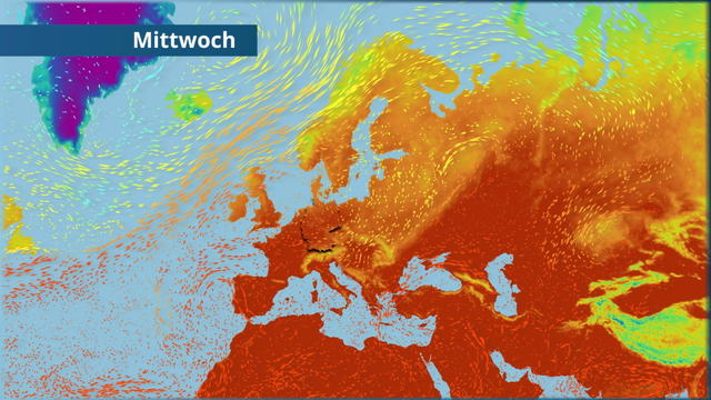 Wetter Europa 7 Tage
