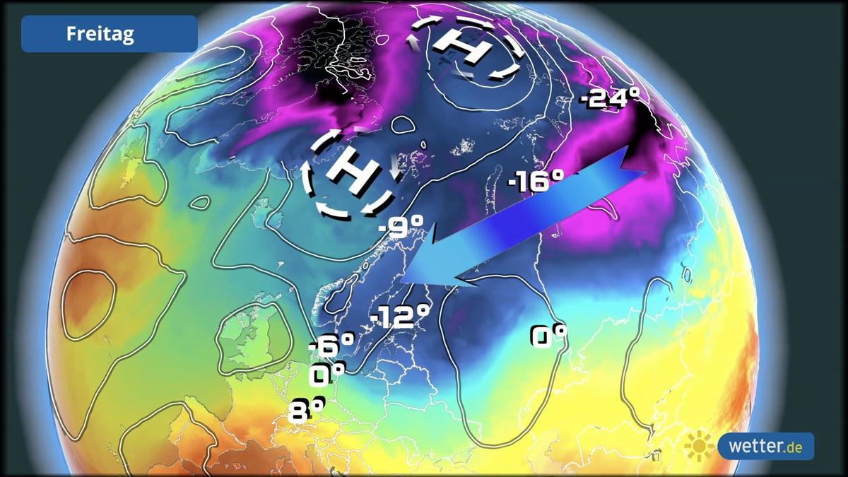 Polarwirbel im März 2021: Der späte Wintereinbruch in Lauerstellung - Wetter.de