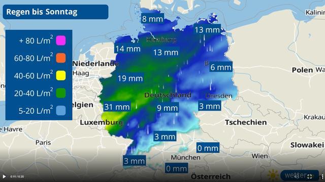 Die vergangenen Jahre hatten vor allem im Frühjahr und im Sommer viel zu wenig Regen im Programm. Im April 2021 könnte das anders werden. Denn die Wettercomputer deuten für die nächsten Tage eine sogenannte Luftmassengrenze an.
