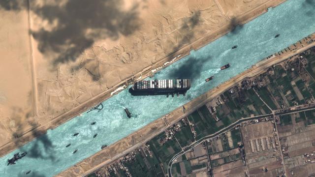 Neue Erkenntnisse erklären den Grund der Blockade im Suezkanal. Möglicherweise konnte der Kapitän das Schiff gerade nicht gerade halten. Das geht aus Daten hervor, die unserem Daten-Partner Meteomatics vorliegen.