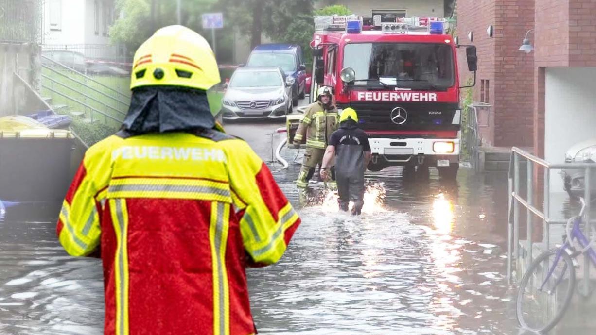 Am Sonntag haben wieder Unwetter getobt. Besonders betroffen waren in Deutschland Berlin und Bayern. Mindestens drei Menschen starben. Ein Mann erlitt in seinem eigenen Keller einen Stromschlag.