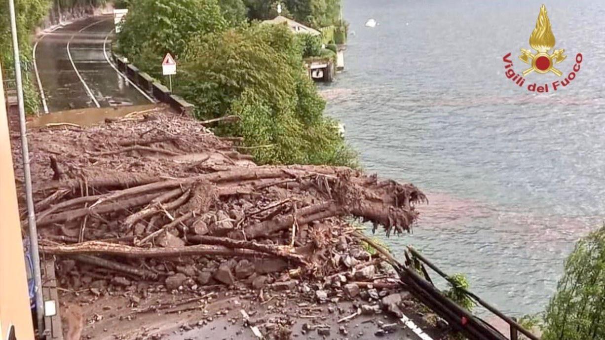 Am Dienstag gab es im Süden der Schweiz und in Norditalien extreme Regenfälle. Rund um den Comer See fielen in den letzten zwei Tagen 150 Liter Regen pro Quadratmeter. Das führte zu Überschwemmungen und Schlammlawinen.