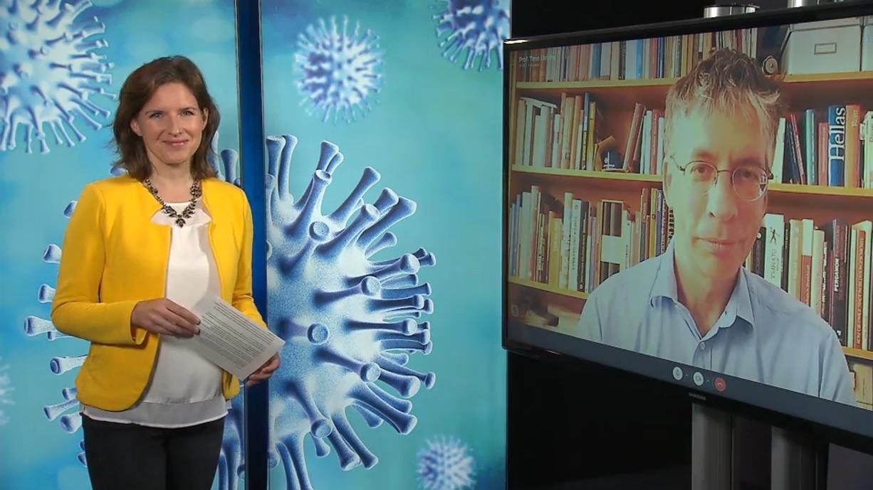 Corona Talk mit Prof. Timo Ulrichs: Hoffnung auf größere Veranstaltungen im Herbst wächst ...