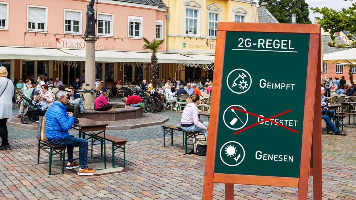 Während einige Bundesländer den Gastronomen und Betreibern öffentlicher Einrichtungen und Freizeitaktivitäten zumindest die Möglichkeit geben, zwischen 2G und 3G zu wählen, verweigern sich andere.