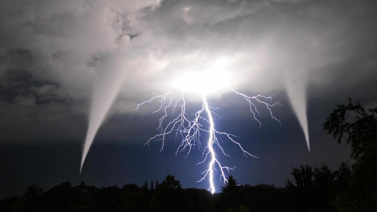 Unwetter auf Mallorca, Ibiza und Menorca: Starkregen, Gewitter und Hagel - auch Tornados nicht ausgeschlossen