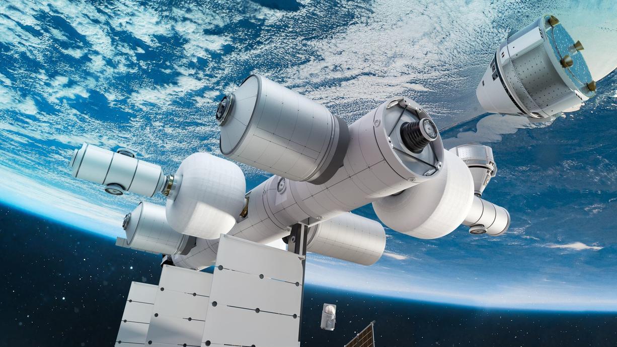 Die Ankündigung von Jeff Bezos Raumfahrtunternehmen Blue Origin, in den Jahren 2025 bis 2030 eine Raumstation im Weltall zu bauen, kommt nicht zufällig. Der Kampf um kommerzielle Aufträge von Raumfahrtbehörden ist im vollen Gange.