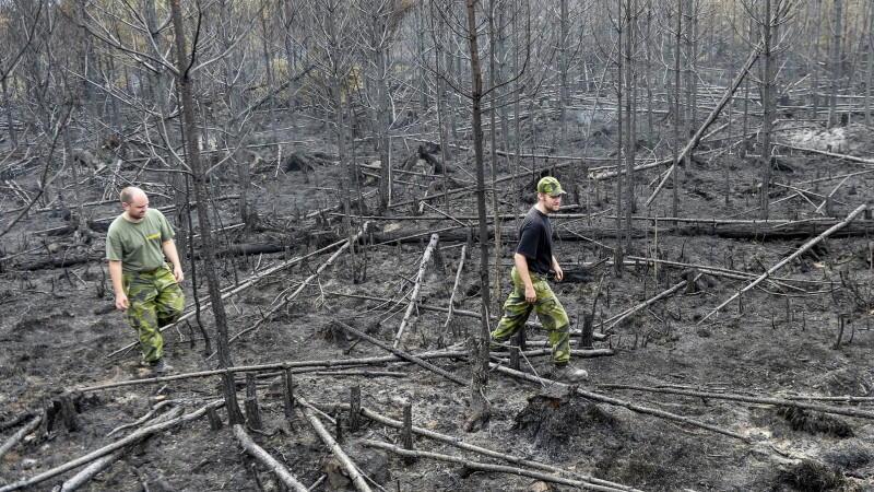 Schweden Waldbrände Karte.Gigantischer Waldbrand In Schweden Wetter De