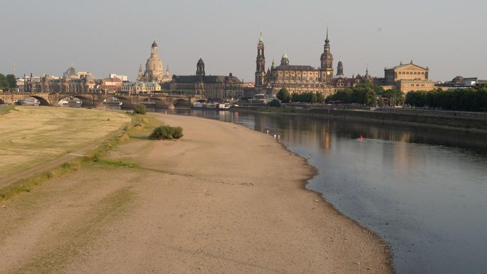 Elbe Niedrigwasser