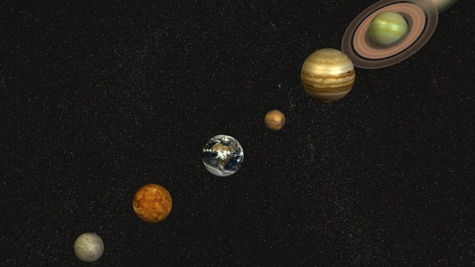 Sechstgrößter Mond Im Sonnensystem Bei Jupiter