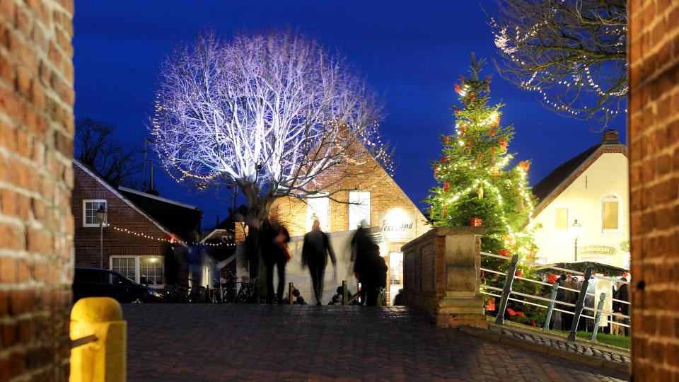 Weihnachtsmarkt Greetsiel.Der Wettertrend Vom 08 12 2015 Wetter De