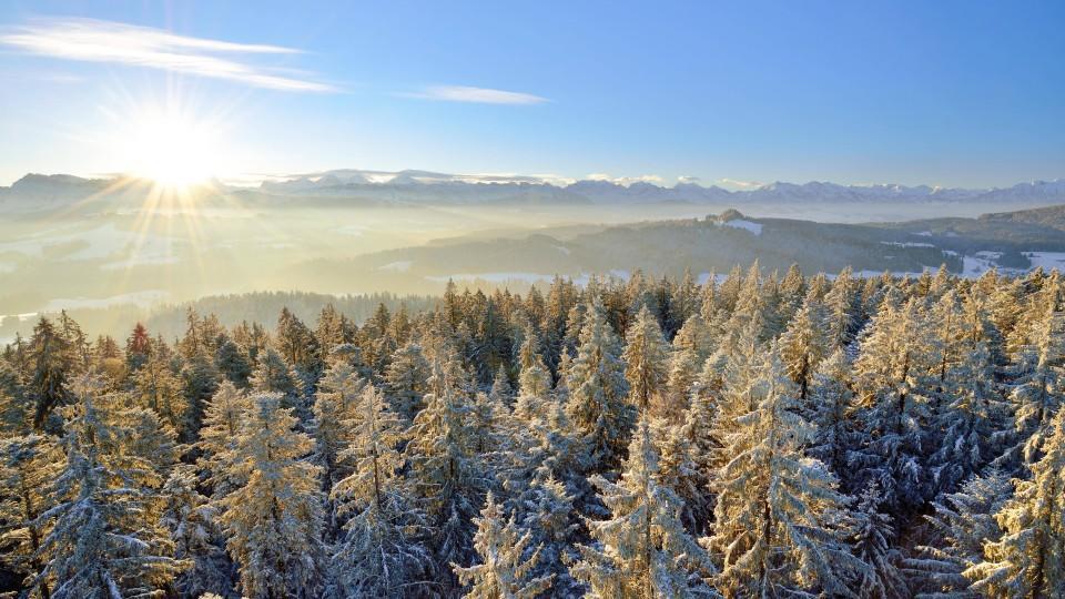 Wintereinbruch Im Osten Und Süden Aber Im Westen Nicht So Kalt