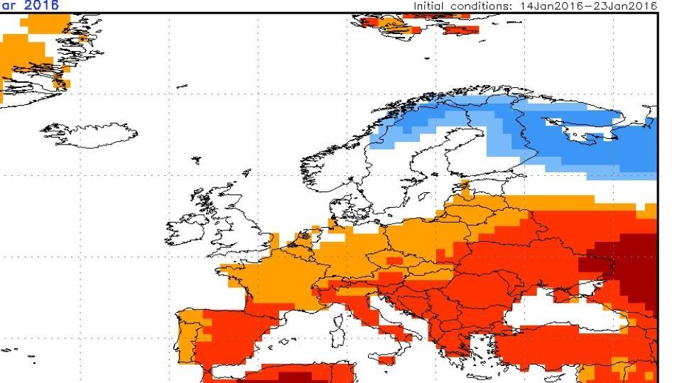 Die Winterprognose 20152016 Geht Weiter Wetterde