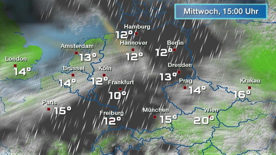 Wetter Haderslev Dänemark 16 Tage