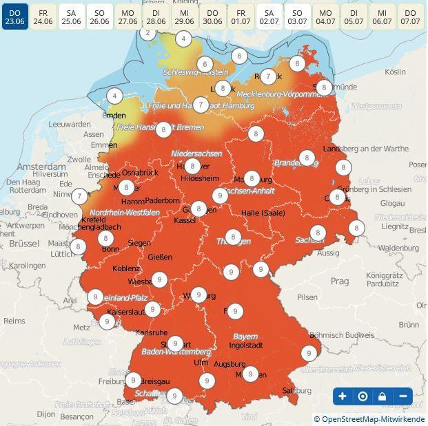 Index Deutschland