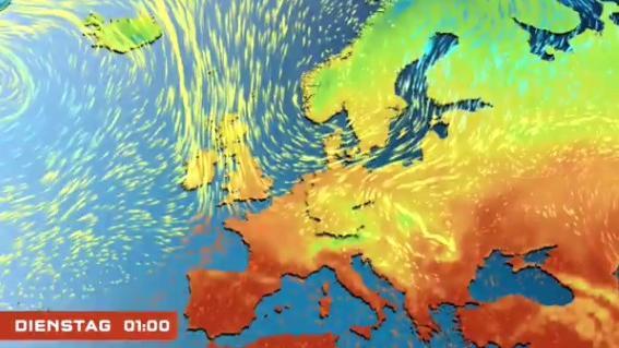 Strömungsfilm Europa 10 Tage