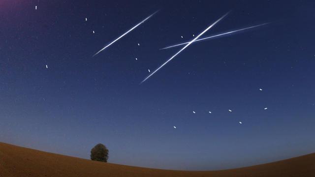 Einige Highlights hat  der Mai am Sternenhimmel zu bieten. Mit dabei sind der Merkur, ein Supermond und Sternschnuppen. Letztere, die Eta-Aquariiden streben ihrem Höhepunkt zu. Wir klären auf, ob das Wetter passt, um sie am Nachthimmel zu sehen.