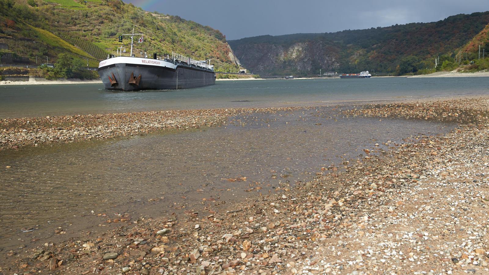 Wasserstand Am Rhein
