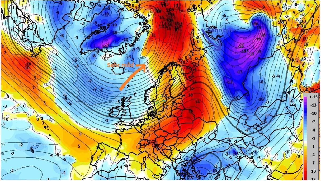 Nordpol Wetter