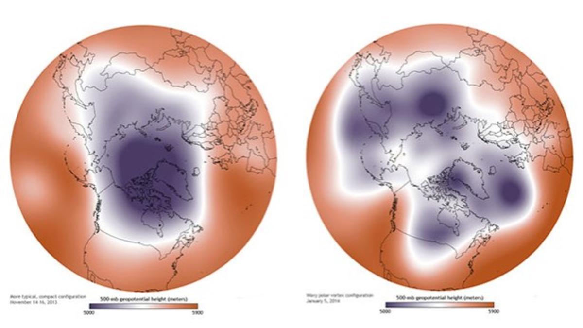 Polarwirbel 2021: Das sind die Folgen seiner Erholung - Wetter.de