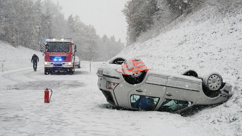 Glatteis Unfälle