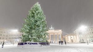 Die Chancen auf weiße Weihnachten