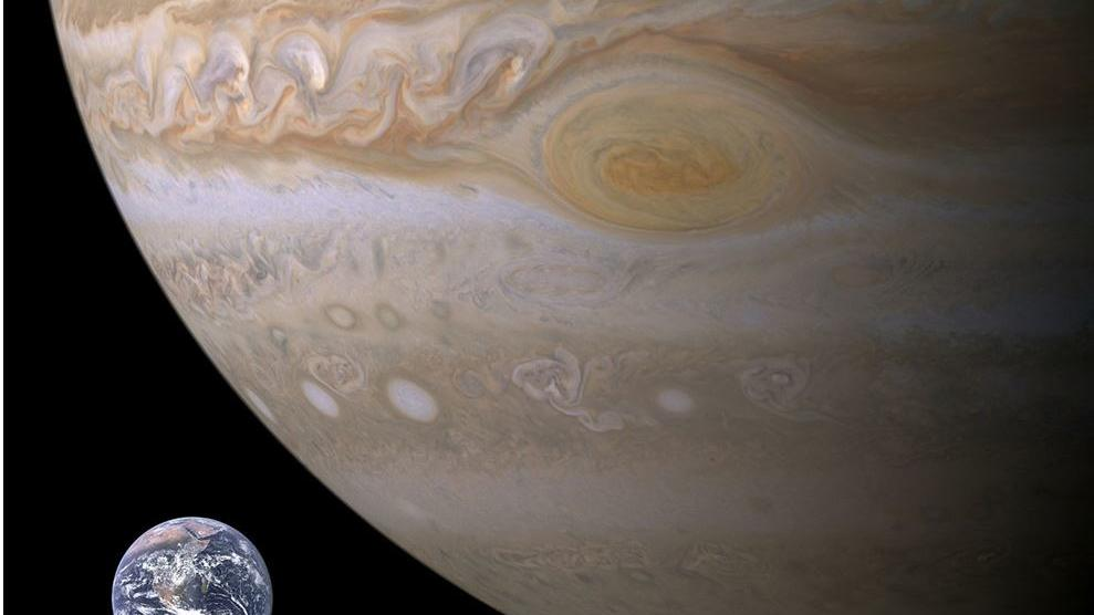 Jupiter Oberfläche