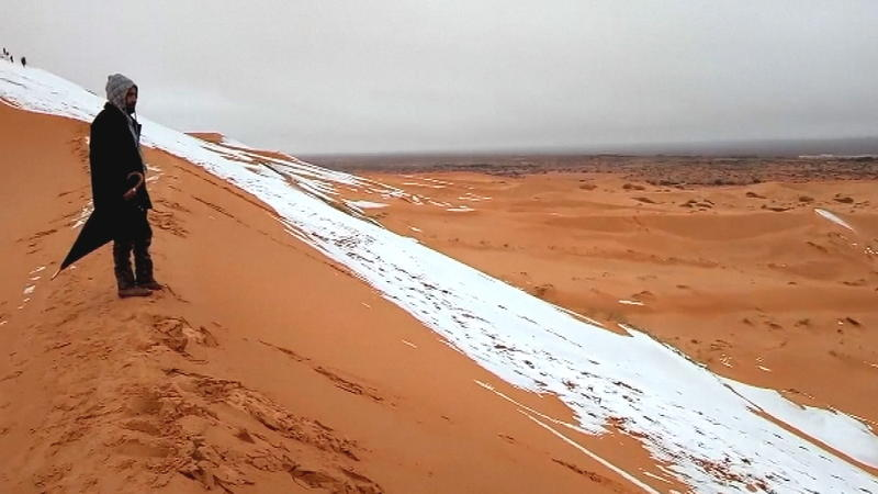 Wetter Sahara