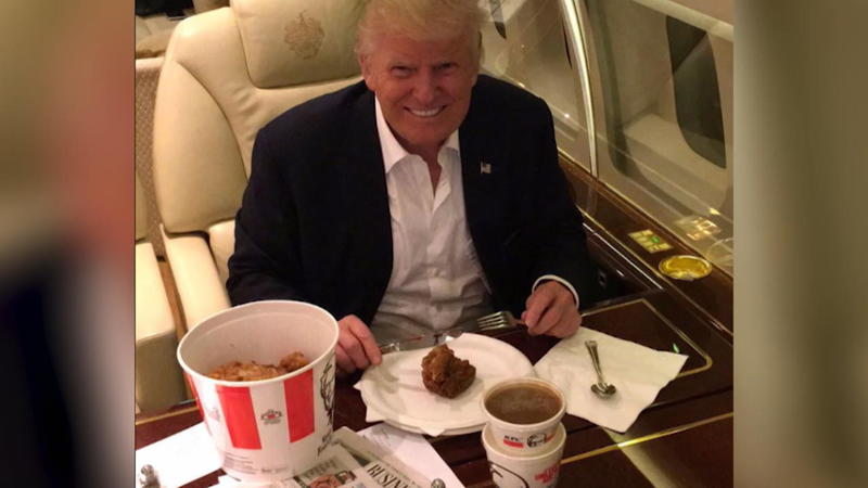 Donald Trump ist bekennender Fast Food Fan